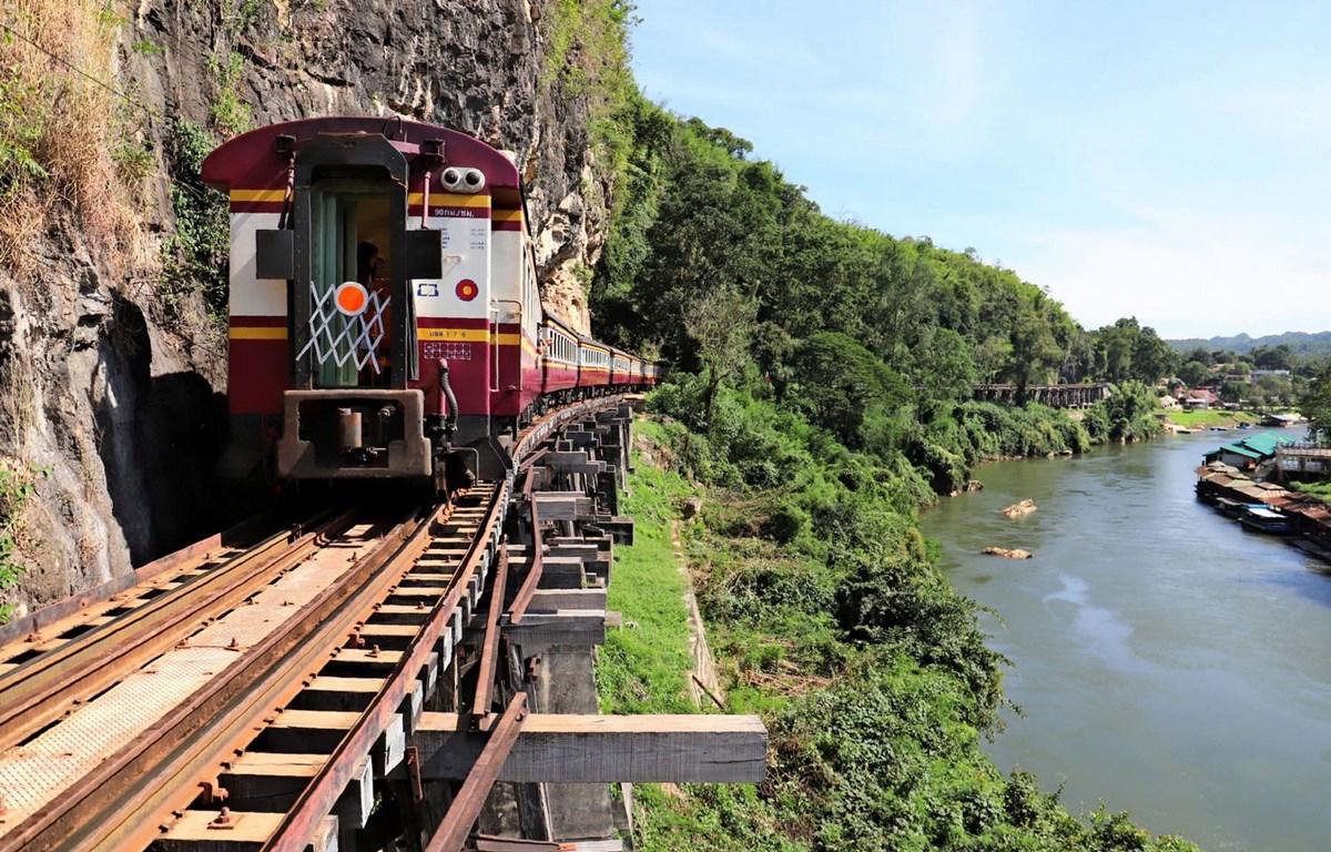 Một tuyến đường sắt của Thái Lan. (Nguồn: Nikkei Asian Review)