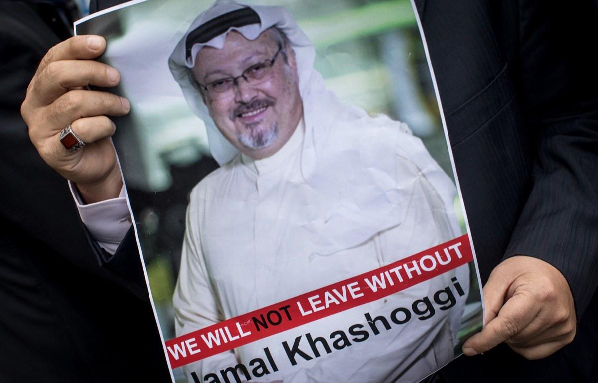 Ảnh nhà báo bị sát hại Khashoggi. (Nguồn: CNBC.com)
