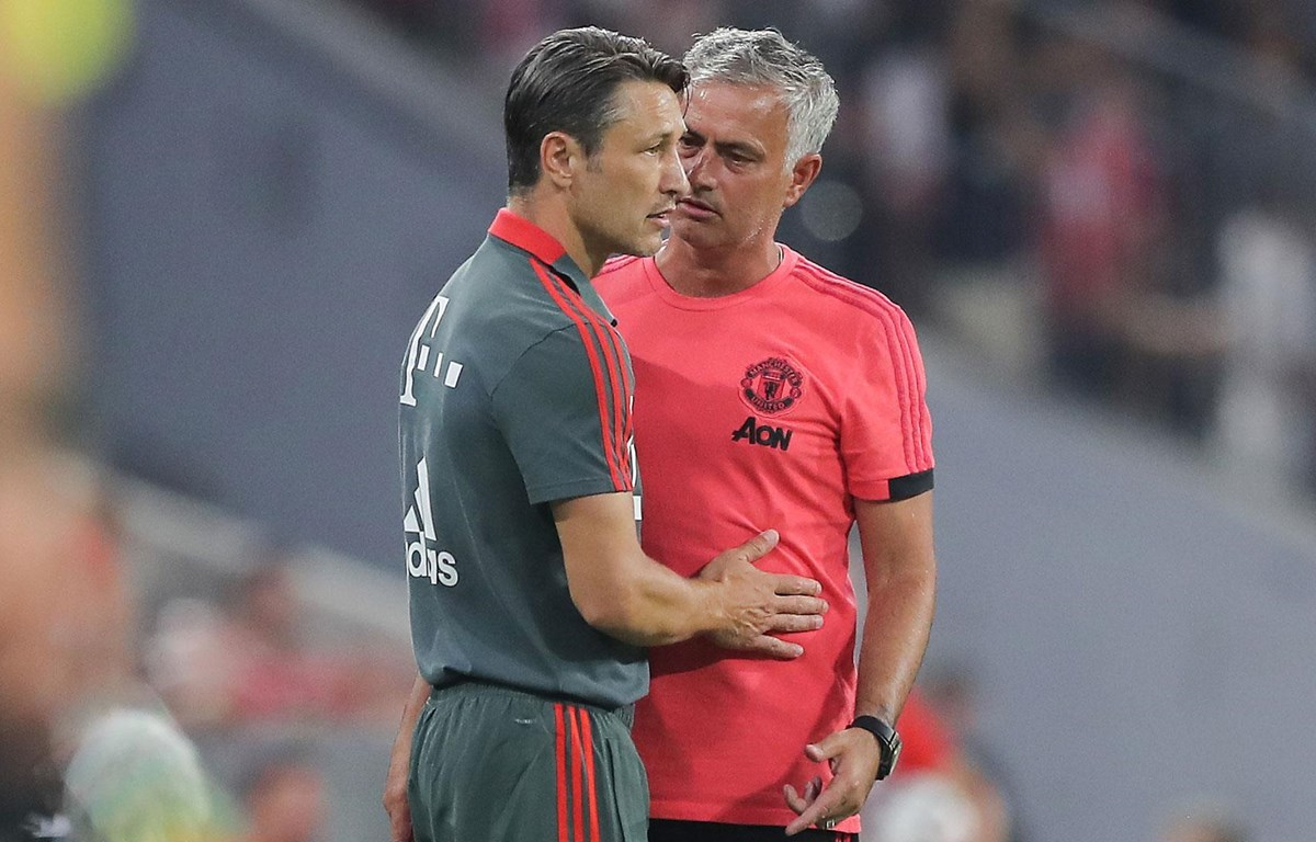 Mourinho liệu có thế chỗ Kovac để dẫn dắt Bayern? (Nguồn: Goal.com)