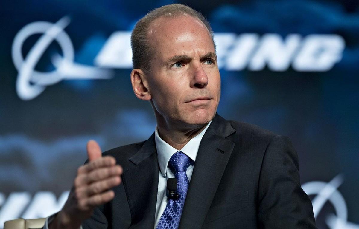 Giám đốc điều hành (CEO) hãng Boeing Dennis Muilenburg. (Nguồn: Getty Images)