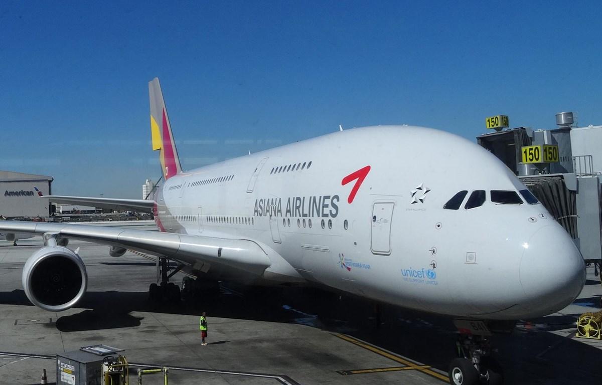 Máy bay của hãng Asiana Airlines. (Nguồn: Bloomberg)