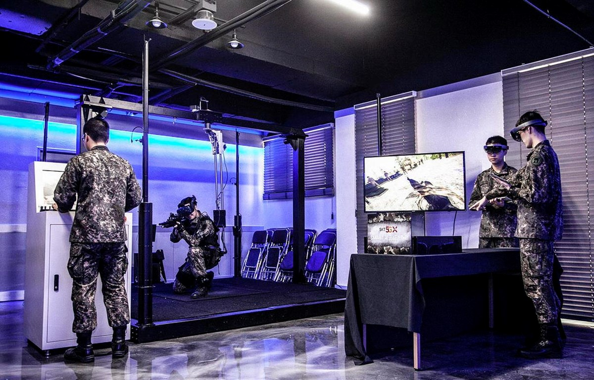 SK Telecom sẽ lắp mạng 5G trong khuôn viên Học viện Quân sự Hàn Quốc. (Nguồn: SK Telecom)