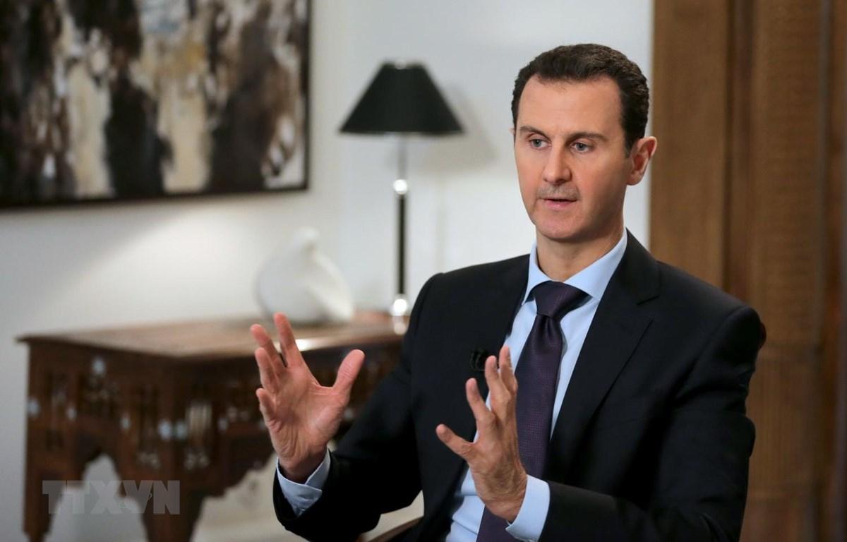 Tổng thống Syria Bashar al-Assad. (Nguồn: AFP/TTXVN)