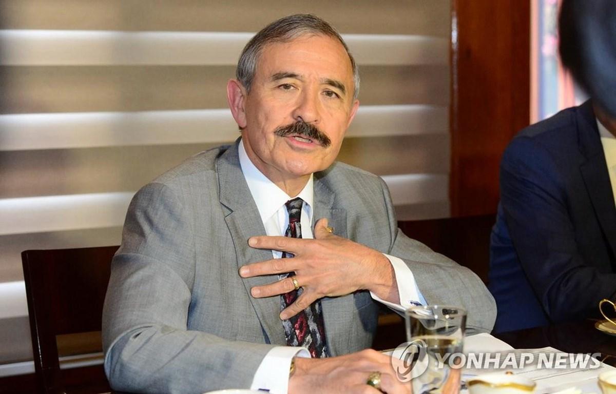 Đại sứ Mỹ tại Hàn Quốc Harry Harris. (Nguồn: Yonhap)