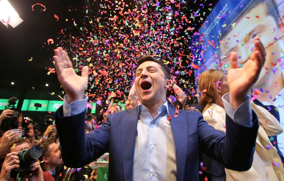 Tổng thống đắc cử Ukraine, Volodymyr Zelensky. (Nguồn: Reuters)