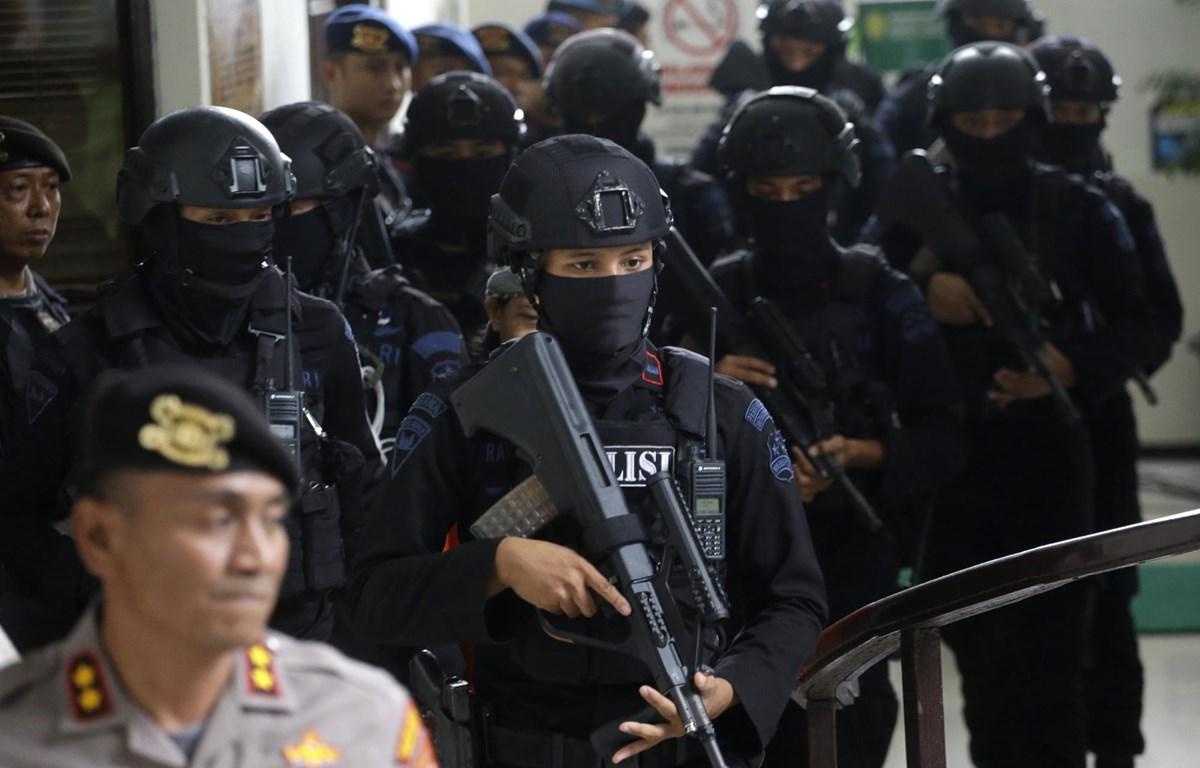 Lực lượng chống khủng bố của Indonesia. (Nguồn: WTOP.com)