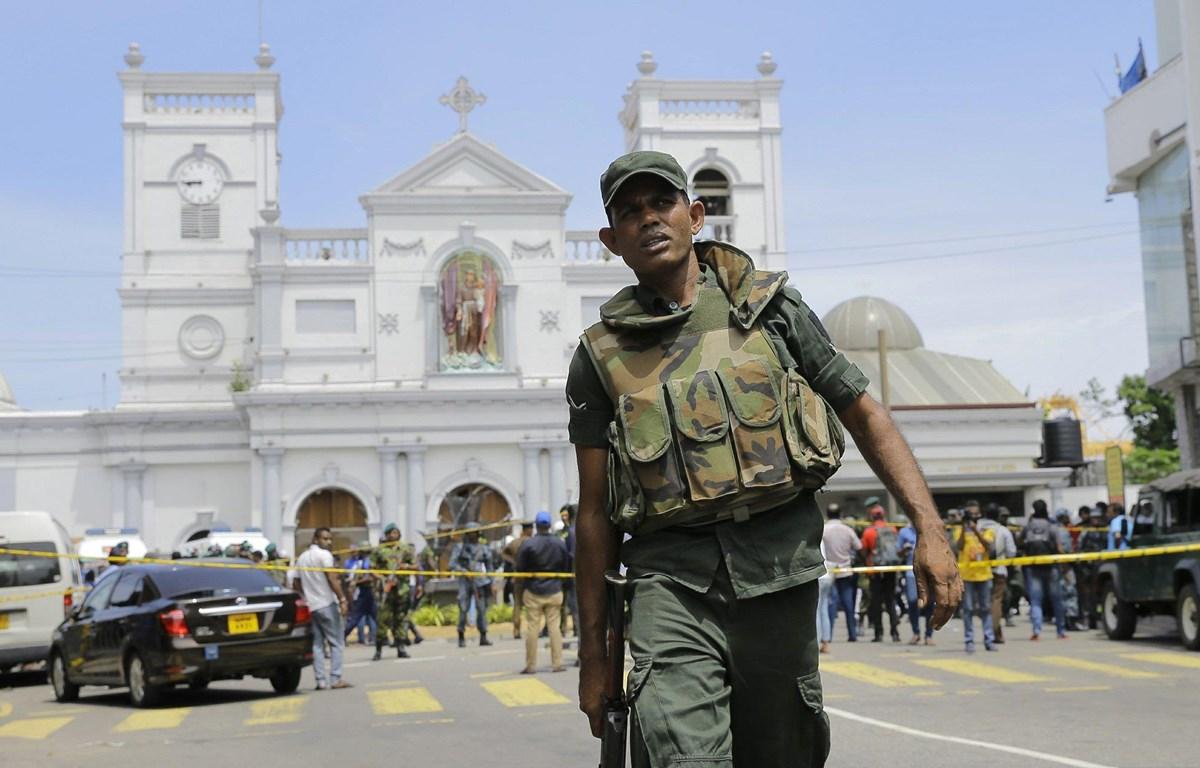 Quân đội Sri Lanka sẽ được trao quyền hạn trên cả lực lượng cảnh sát. (Nguồn: AP)
