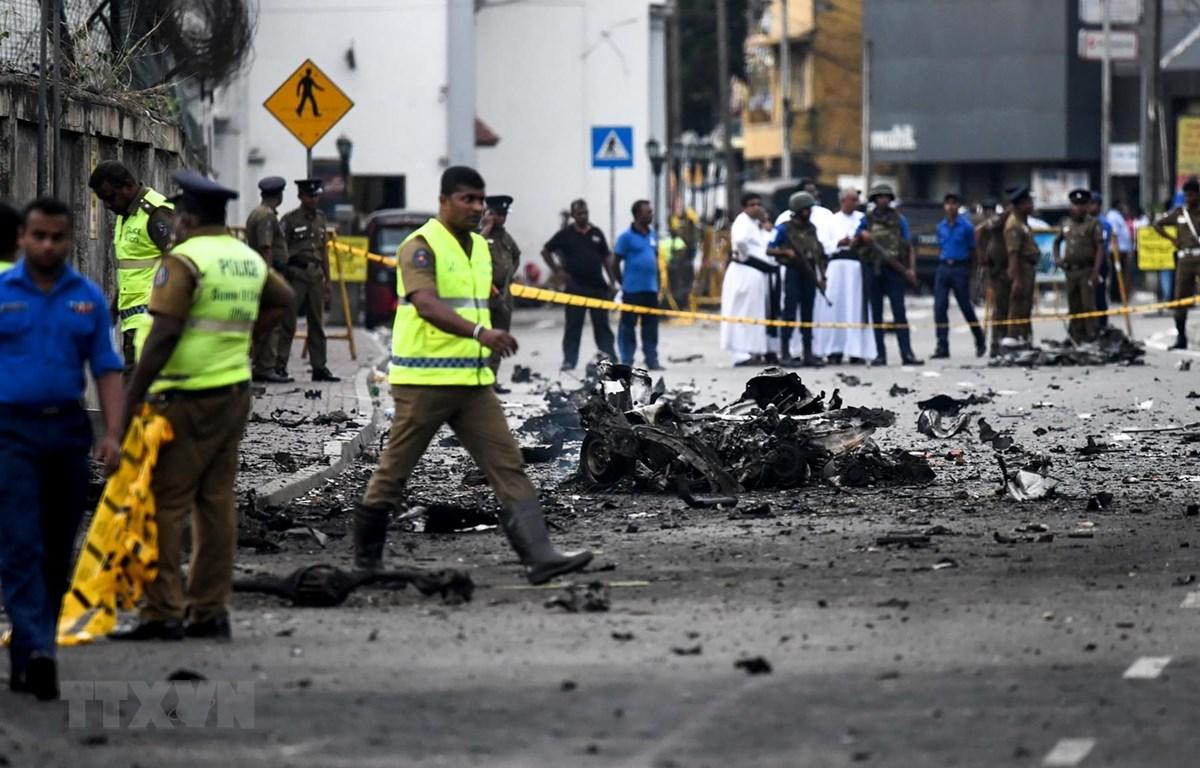 Sau khi xảy ra các vụ tấn công, Sri Lanka đình chỉ kế hoạch miễn thị thực nhập cảnh. (Ảnh: AFP/TTXVN)