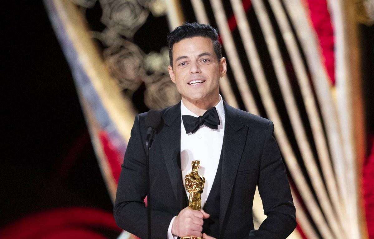 Tài tử Rami Malek tại Lễ trao giải Oscar 2019. (Nguồn: Getty Images)