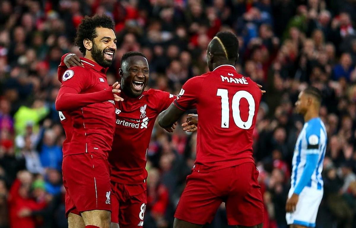 Keita, Mane và Salah thay nhau lập công giúp Liverpool thắng hủy diệt.