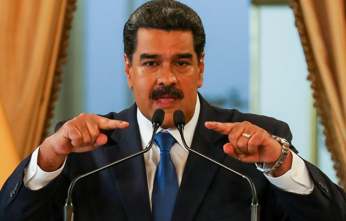 Tổng thống Venezuela Nicolas Maduro. (Nguồn: EPA)