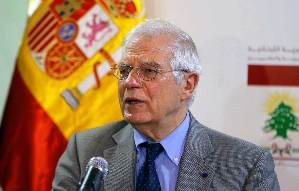 Quyền Ngoại trưởng Tây Ban Nha Josep Borrell. (Nguồn: AP)