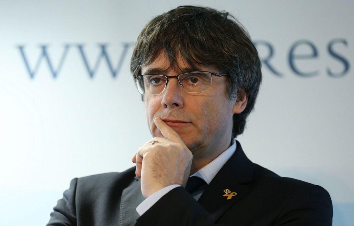 Cựu Thủ hiến vùng Catalonia Carles Puigdemont. (Nguồn: Paris Match)