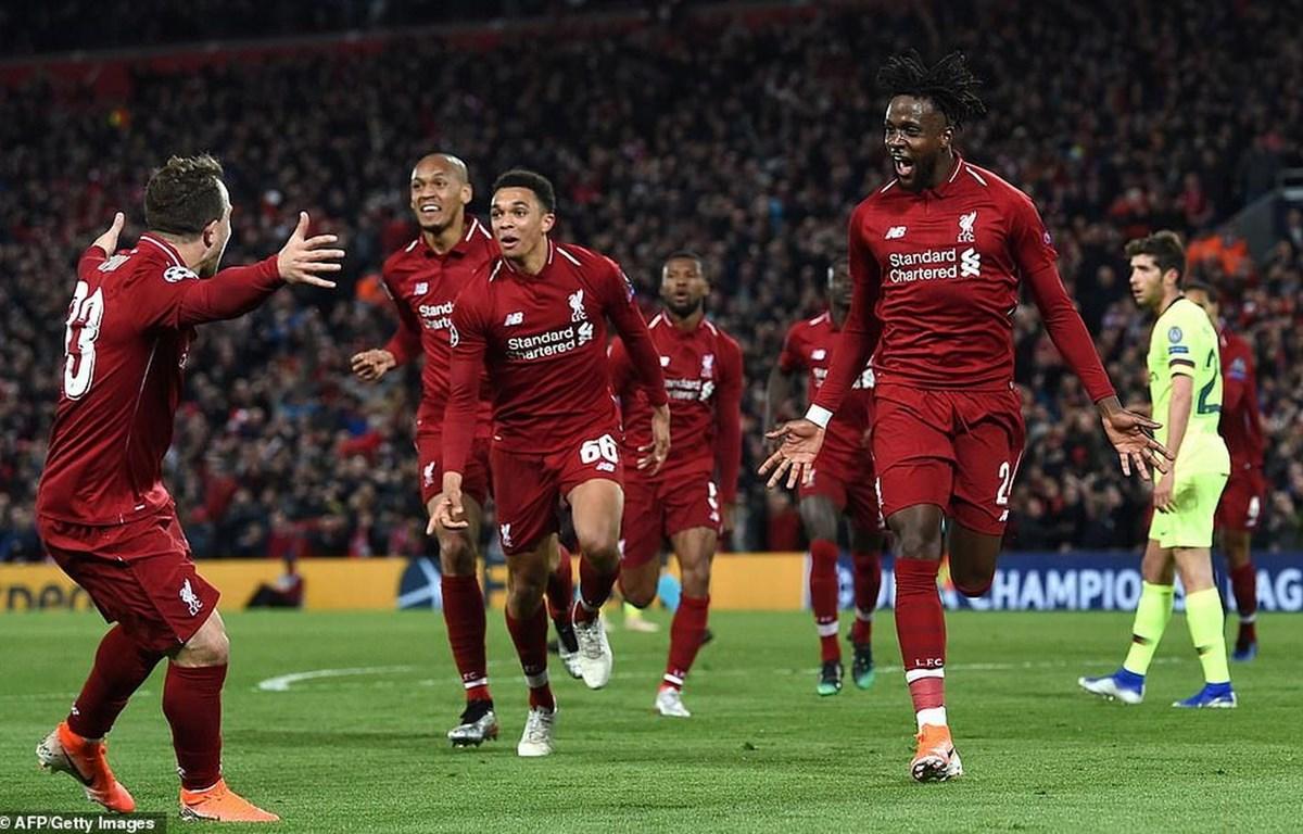 Liverpool hiên ngang vào chung kết Champions League.