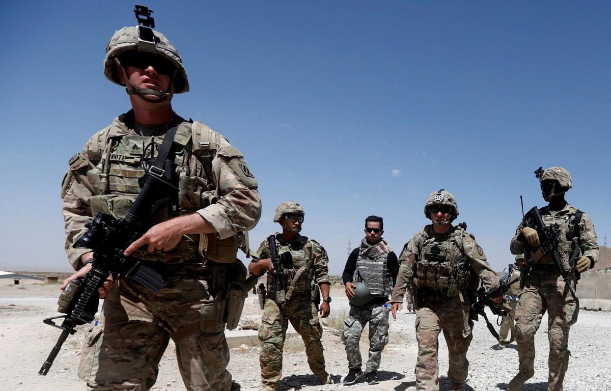 Quân đội Mỹ ở Afghanistan. (Nguồn: AP)
