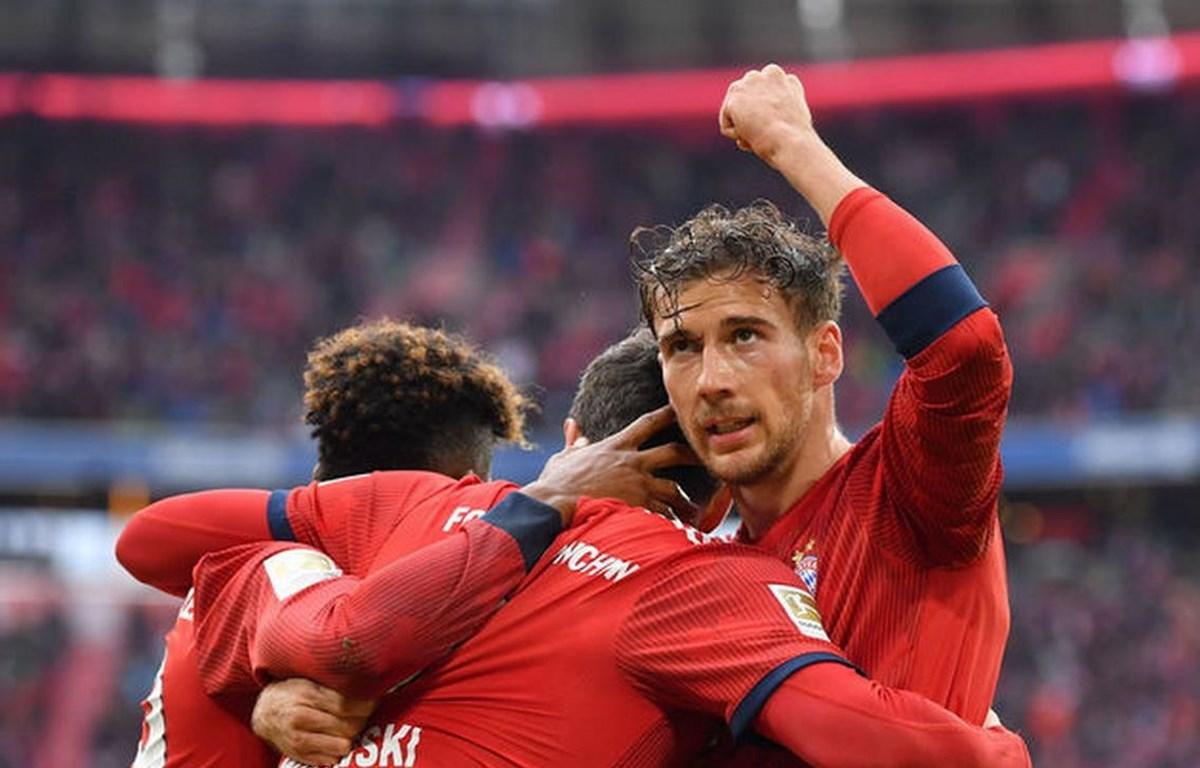 Bayern chỉ cách chức vô địch đúng 1 trận hòa. (Nguồn: Getty Images)