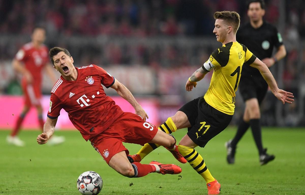 Bayern chạm trán Dortmund ở Siêu cúp Đức. (Nguồn: AP)
