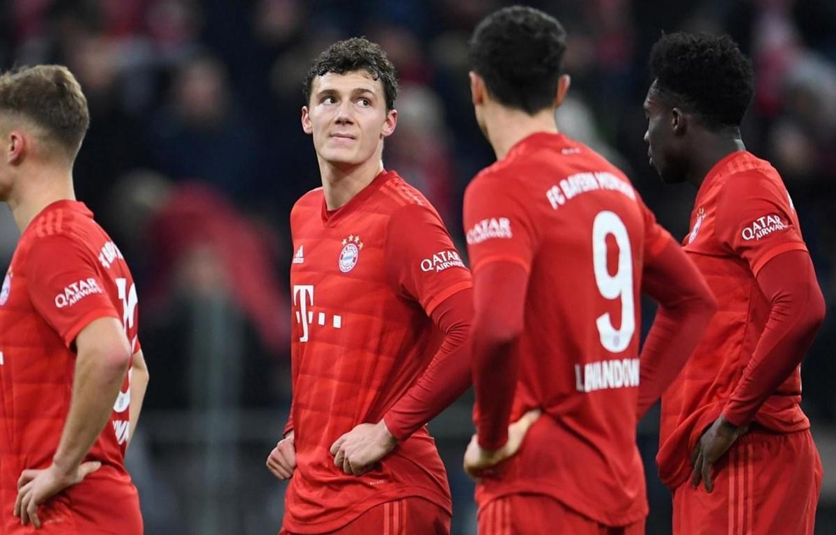 Bayern bại trận sau 4 trận liên tiếp thăng hoa dưới thời Hansi Flick. (Nguồn: Getty Images)