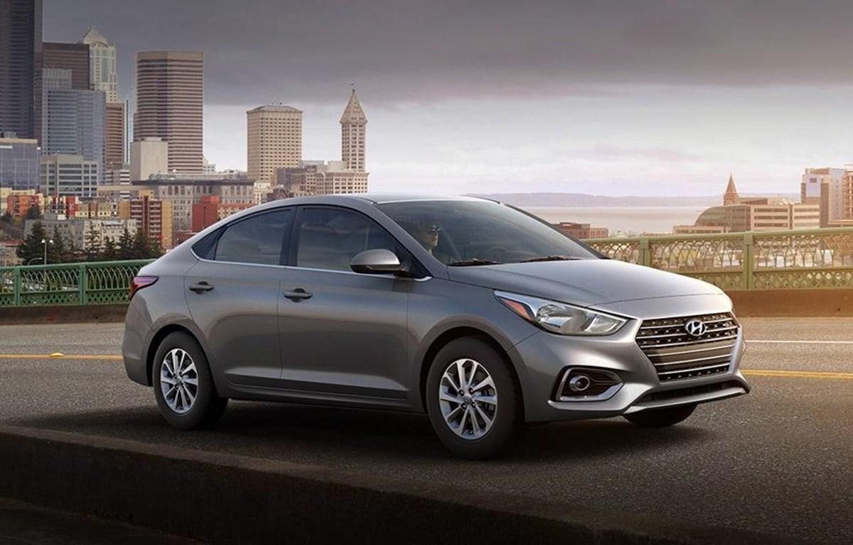 """Mẫu xe Hyundai Accent vượt mặt """"vua doanh số"""" để lên đầu bảng xếp hạng ôtô Việt Nam tháng đầu năm 2020. (Ảnh nguồn: TMV)"""