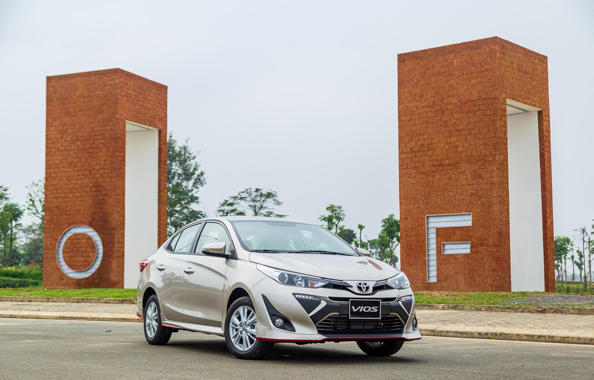 """Toyota Vios, """"đòn đánh"""" chủ lực của Toyota tại thị trường Việt Nam. (Nguồn: TMV)"""