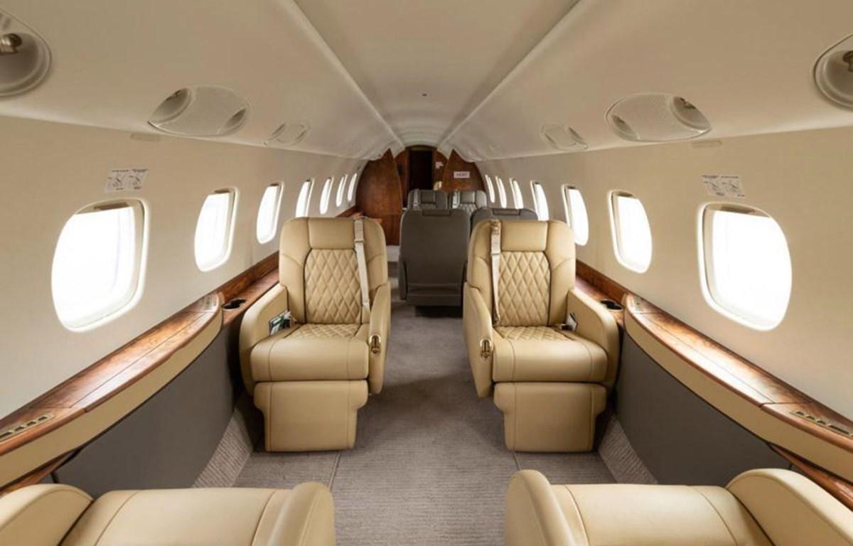 Hình ảnh bên trong một máy bay tư nhân. (Nguồn: PrivateFly)