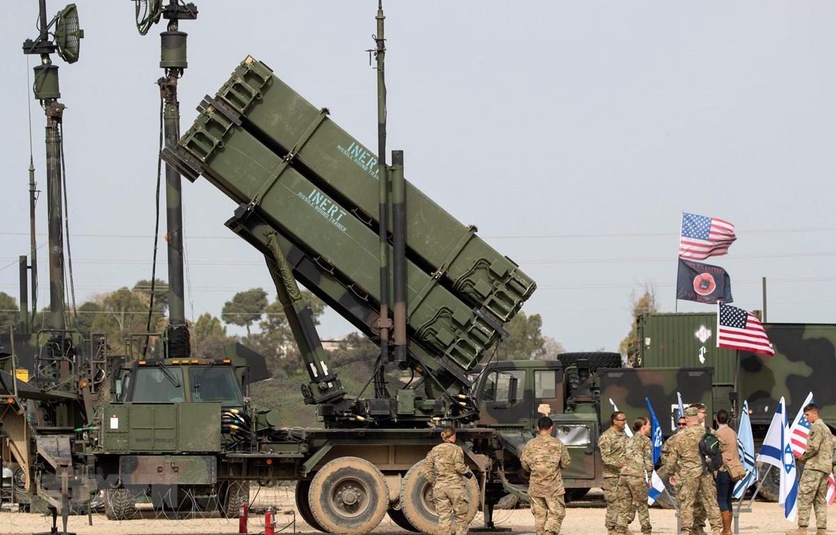 Có thông tin Mỹ đã kế hoạch triển khai hệ thống tên lửa Patriot tại Iraq. (Ảnh: AFP/TTXVN)