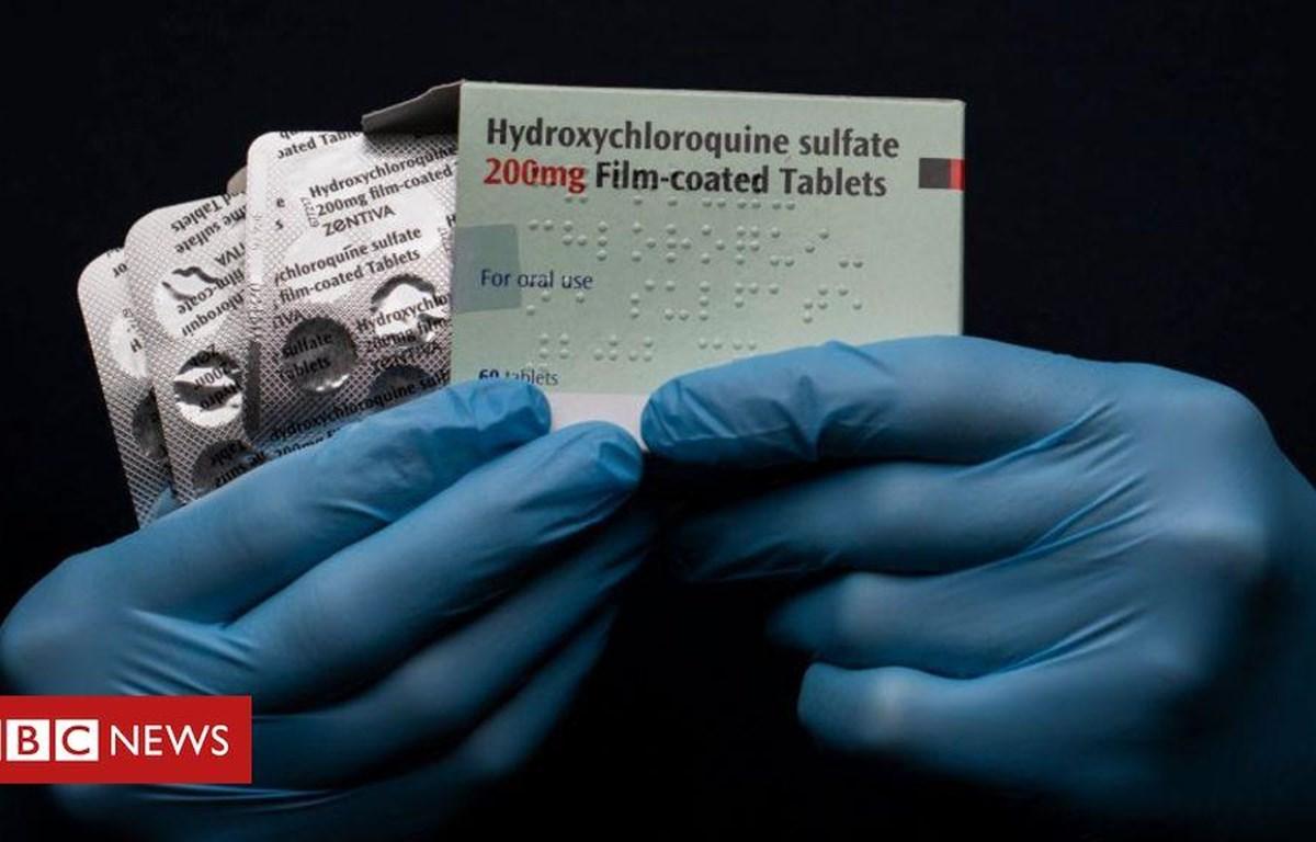Thuốc chống sốt rét Hydroxychloroquine là một lựa chọn trong điều trị bệnh COVID-19. (Nguồn: BBC News)