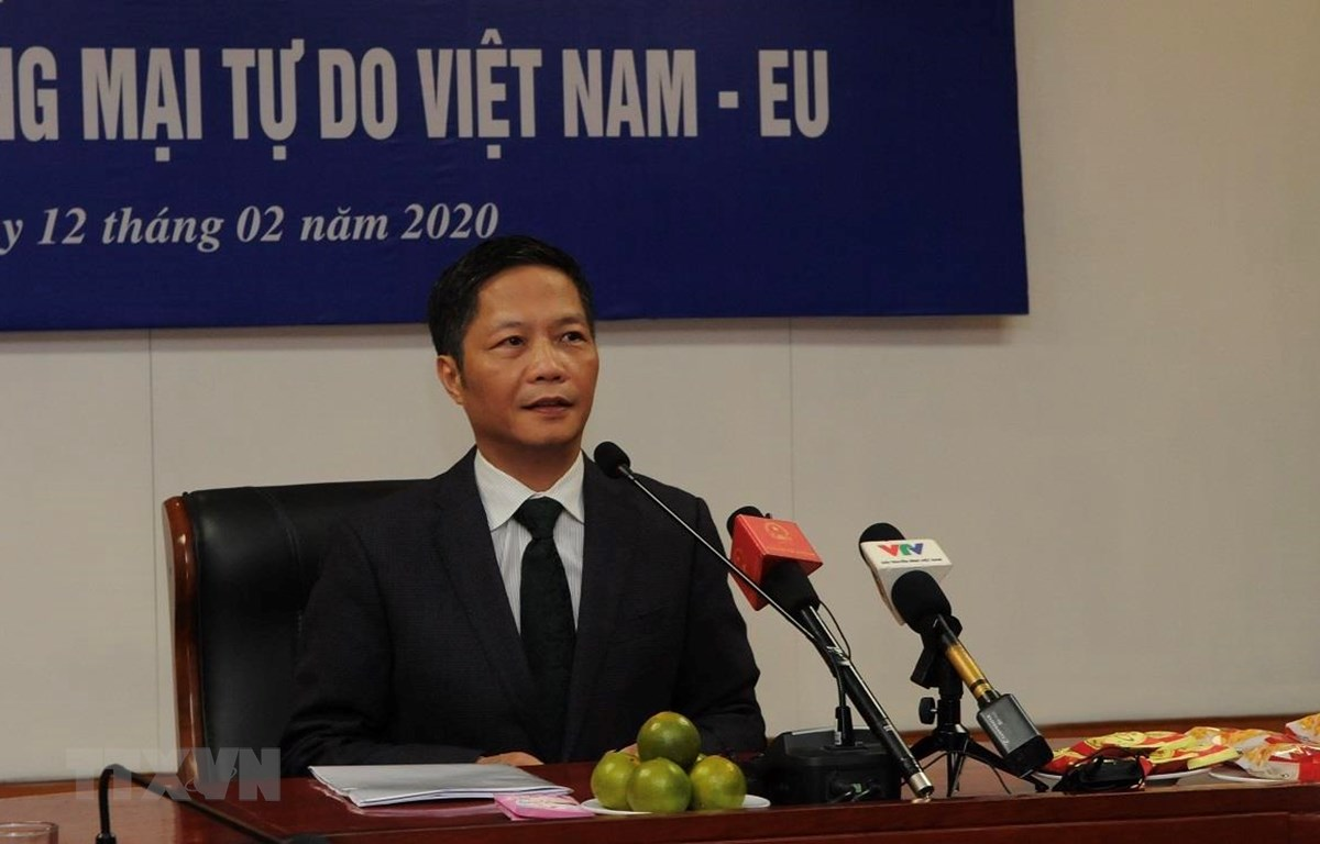 Bộ trưởng Bộ Công Thương Trần Tuấn Anh. (Ảnh: Trần Việt/TTXVN)