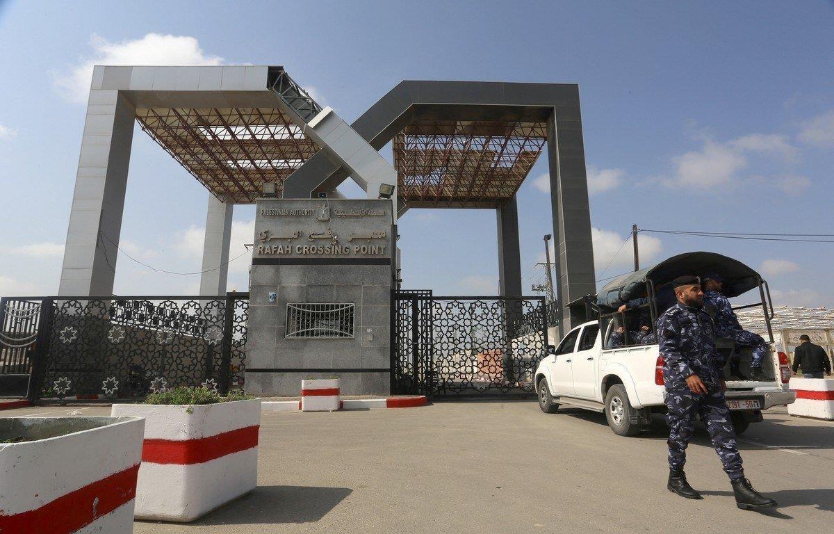 Cửa khẩu Rafah nối Dải Gaza với Ai Cập. (Nguồn: Anadolu)