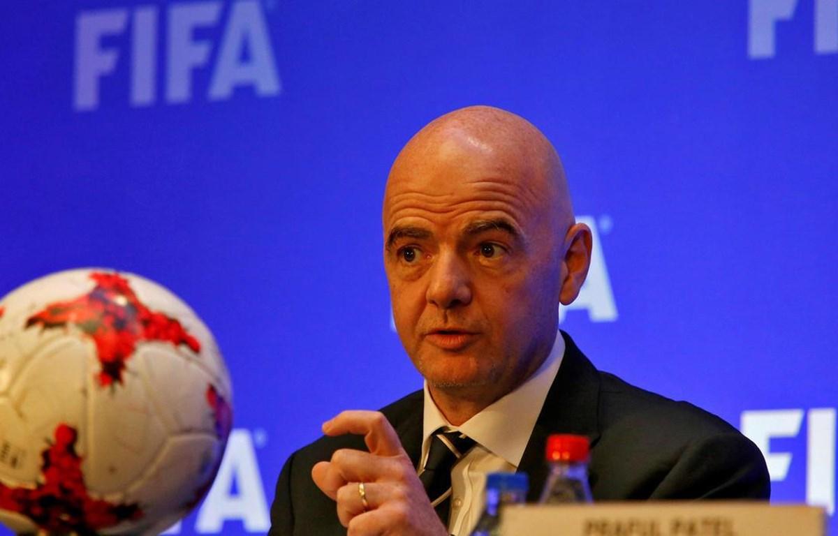 Chủ tịch FIFA Gianni Infantino. (Nguồn: Reuters)