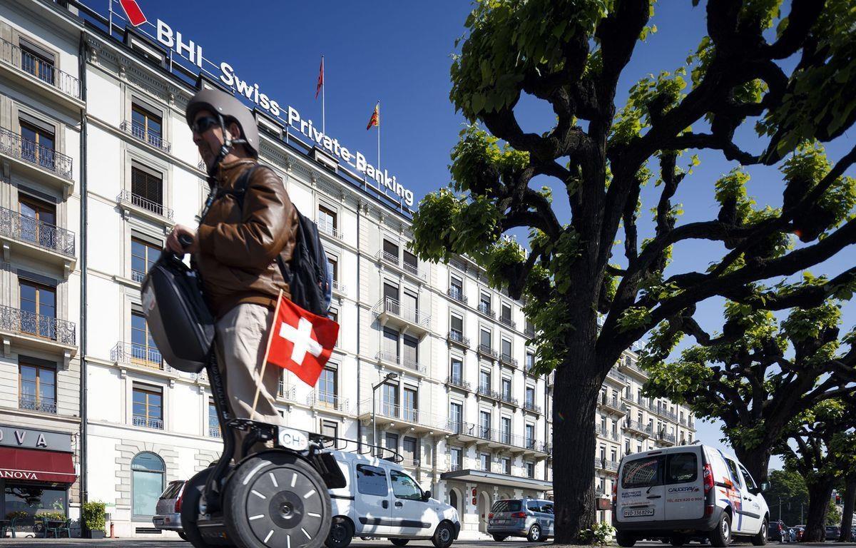 Chi nhánh của ngân hàng Hapoalim tại Thụy Sĩ. (Nguồn: Bloomberg)