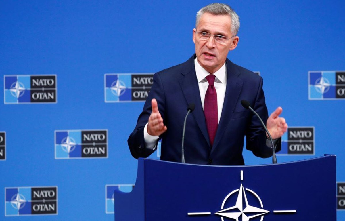 Tổng Thư ký NATO Jens Stoltenberg. (Nguồn: AFP)