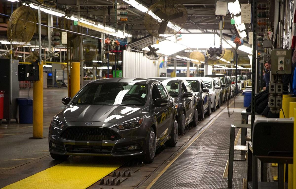 Nhà máy sản xuất ôtô của Ford tại Mexico. (Nguồn: AFP)