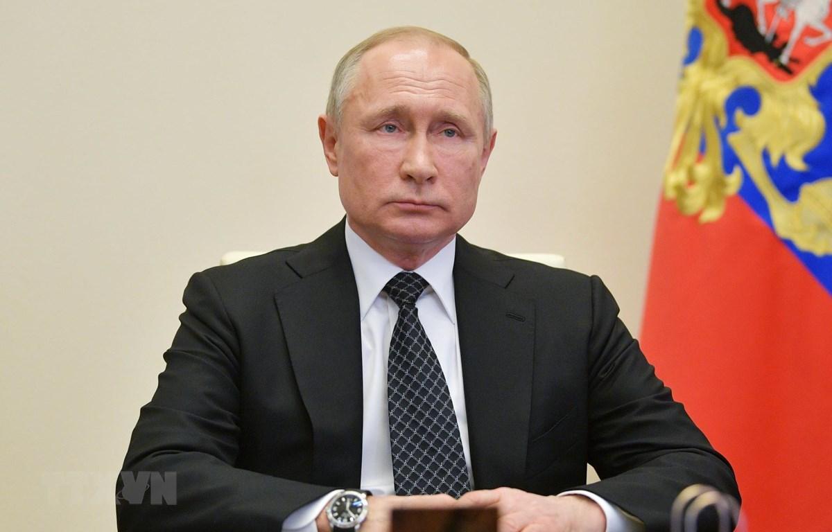 Tổng thống Nga Vladimir Putin. (Ảnh: THX/TTXVN)