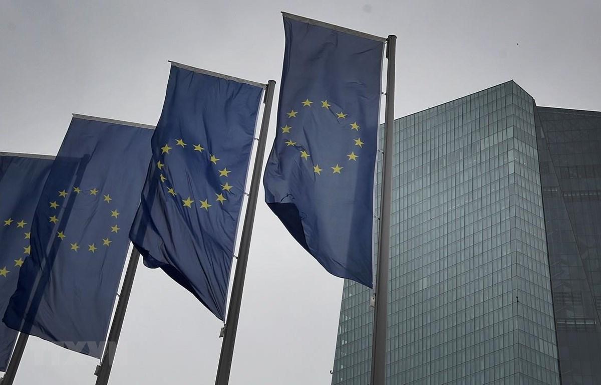 rụ sở Ngân hàng Trung ương châu Âu (ECB) tại Frankfurt, Đức. (Ảnh: AFP/TTXVN)