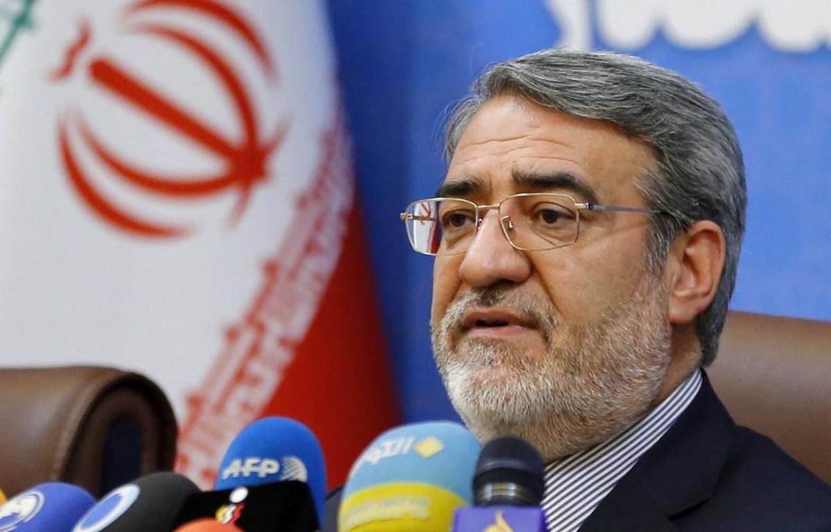 Bộ trưởng Nội vụ Iran Abdolreza Rahmani Fazli. (Nguồn: AFP)