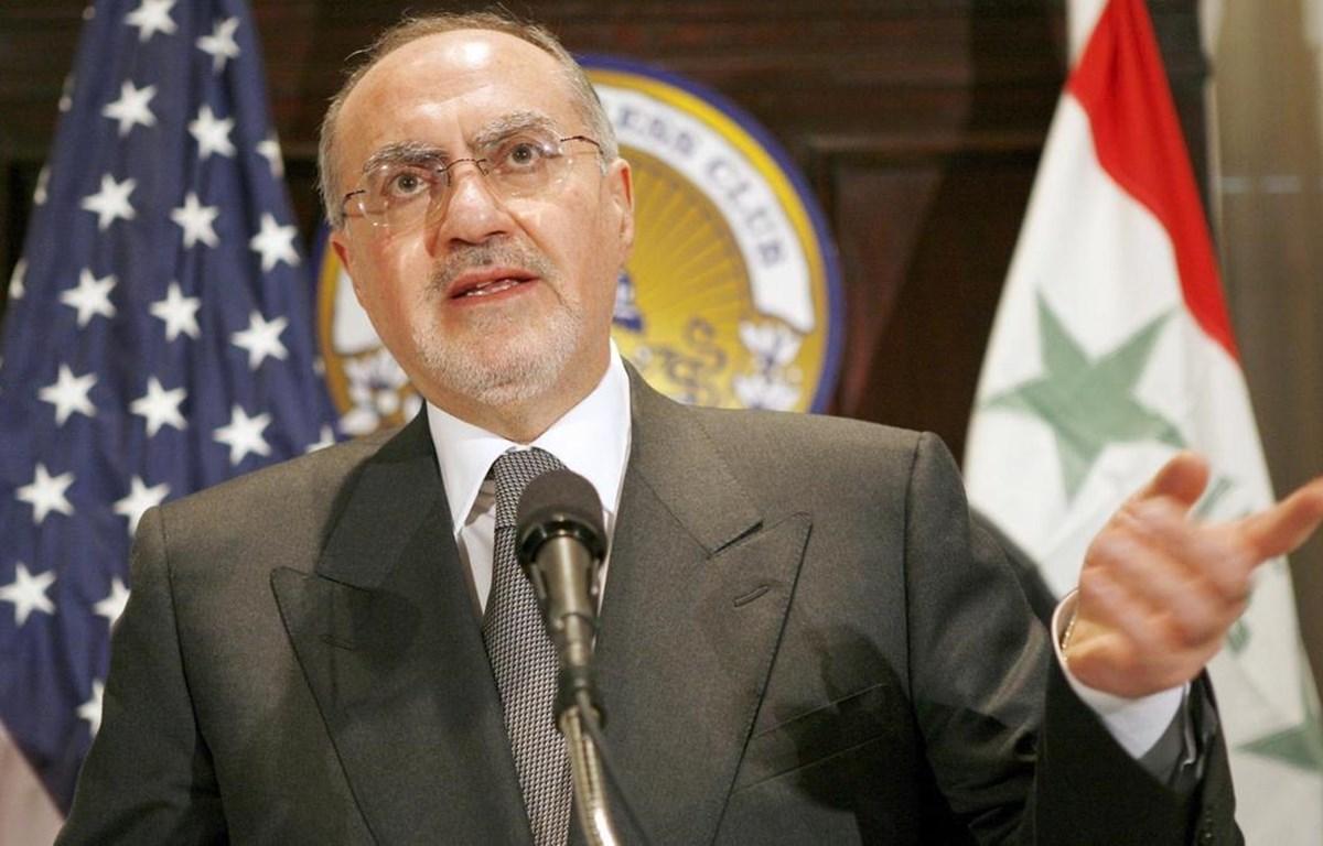 Tân Bộ trưởng Tài chính của Iraq Ali Allawi. (Nguồn: EPA)