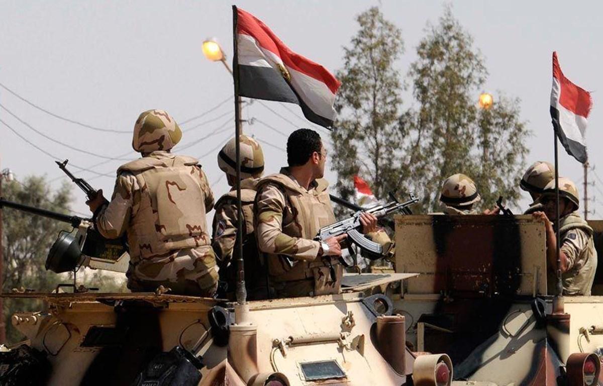 Lực lượng an ninh Ai Cập. (Nguồn: almasdarnews.com)
