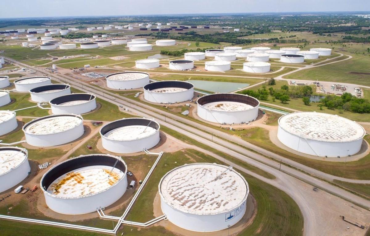 Kho dự trữ dầu chiến lược Cushing tại Oklahoma, Mỹ. (Nguồn: Reuters)