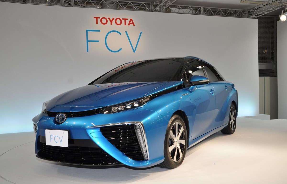 Một mẫu xe chạy pin nhiên liệu của Toyota. (Nguồn: global.toyota)