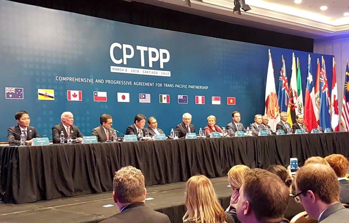 Hội nghị bộ trưởng các nước thành viên CPTPP. (Nguồn: Reuters)