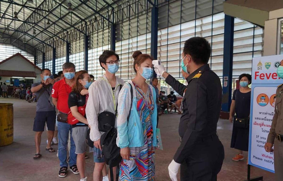Trạm kiểm soát biên giới Aranyaprathet tại tỉnh Sa Kaeo, Thái Lan giáp với Campuchia. (Nguồn: bangkokpost.com)