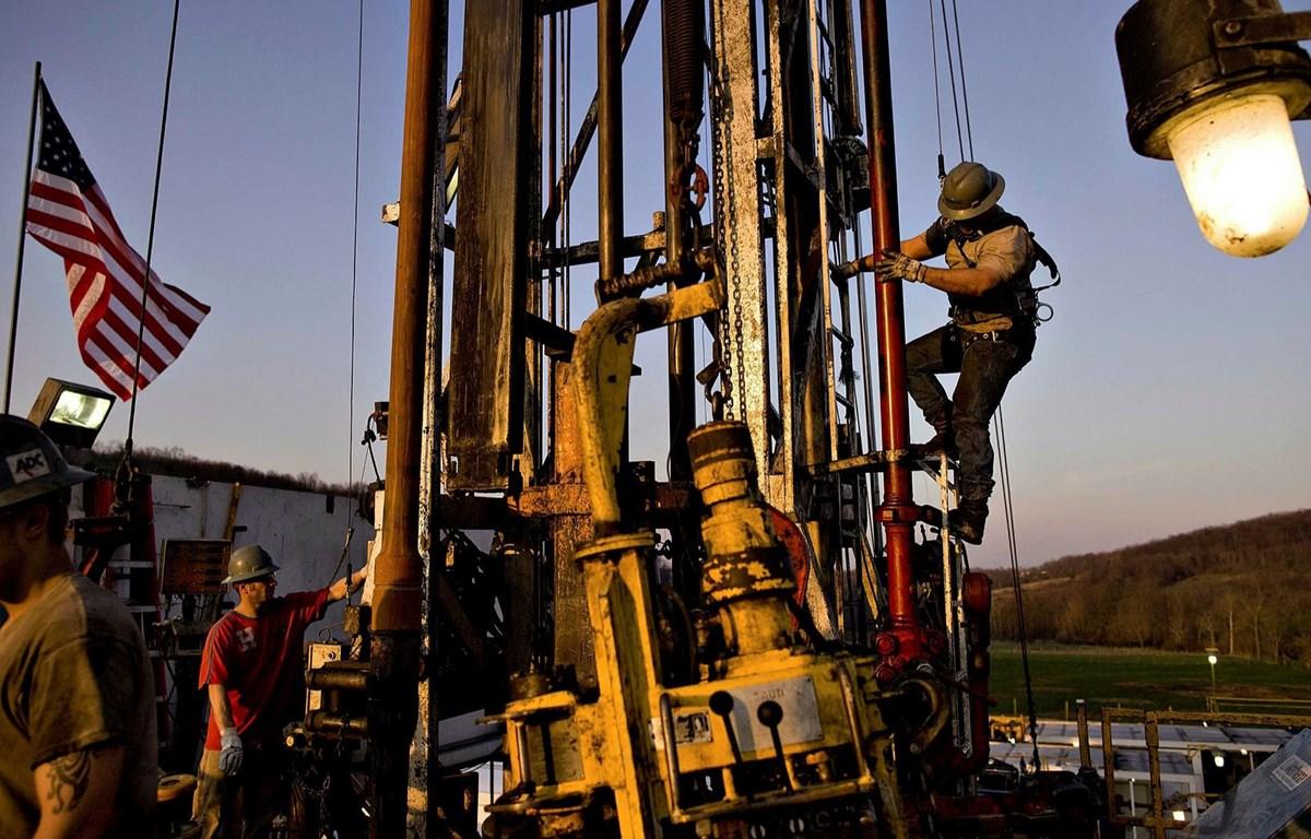 Một điểm khai thác dầu đá phiến của Chesapeake Energy tại Bradford County, Pennsylvania. (Nguồn: Bloomberg)