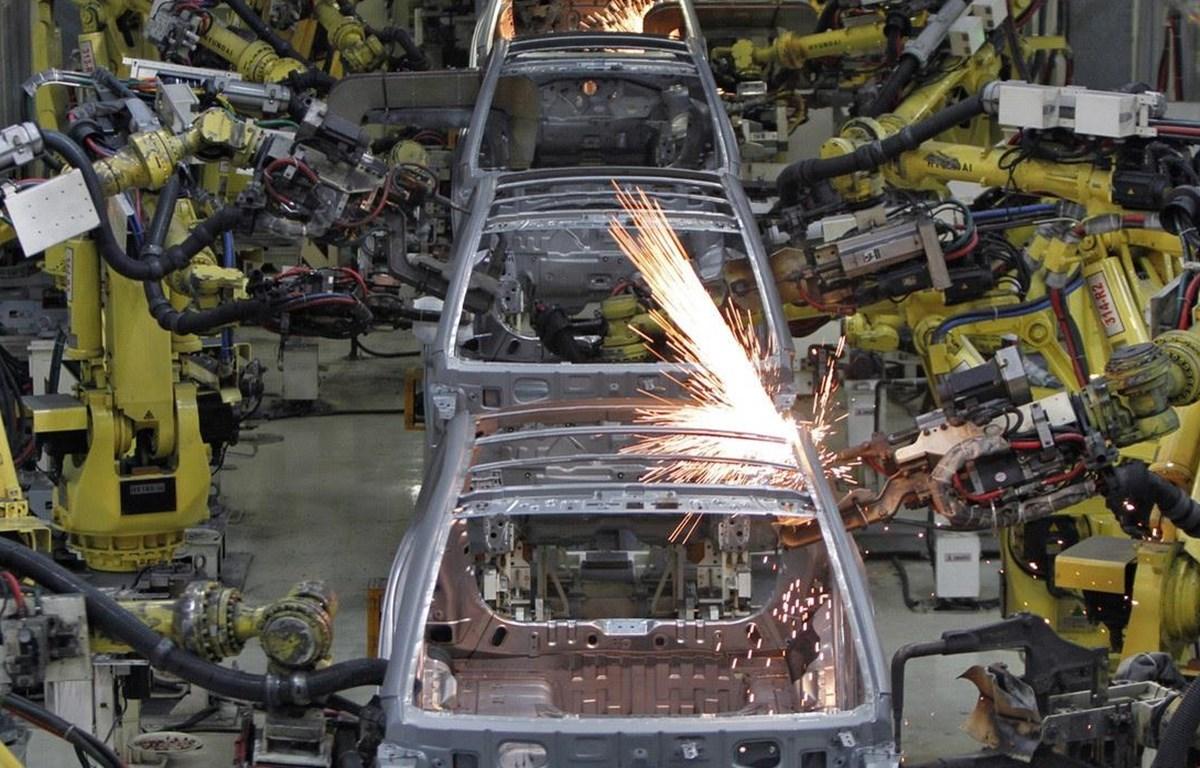 Nhà máy sản xuất ôtô của Hyundai Motor tại bang Tamil Nadu của Ấn Độ. (Nguồn: Reuters)