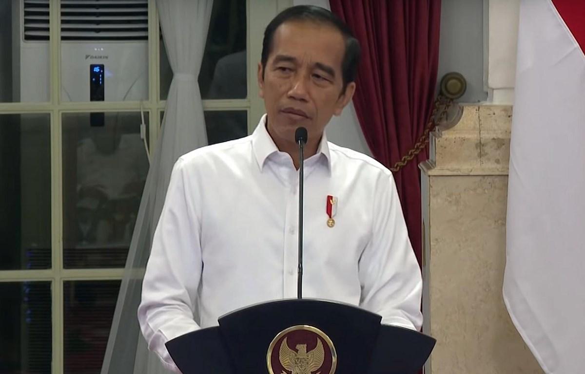 Tổng thống Indonesia Joko Widodo. (Nguồn: Phủ Tổng thống Indonesia)