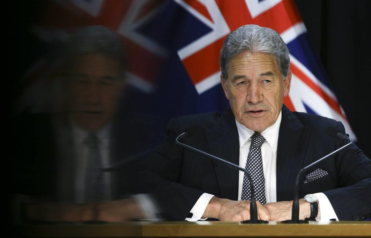 Ngoại trưởng New Zealand Winston Peters. (Nguồn: Getty Images)