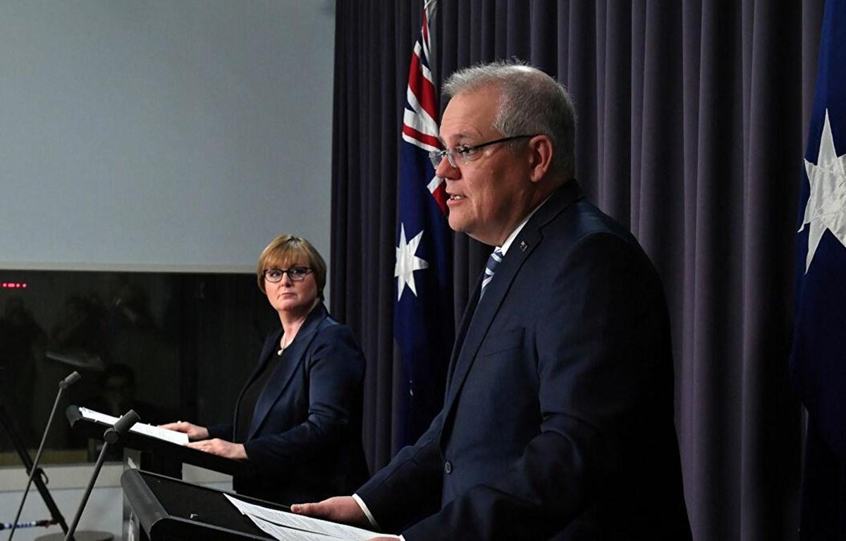 Thủ tướng Australia Scott Morrison. (Nguồn: Reuters)
