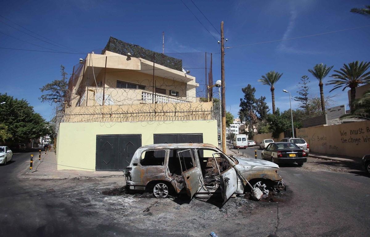 Đại sứ quán Nga tại Libya đã bị đóng cửa từ năm 2013. (Nguồn: EPA)
