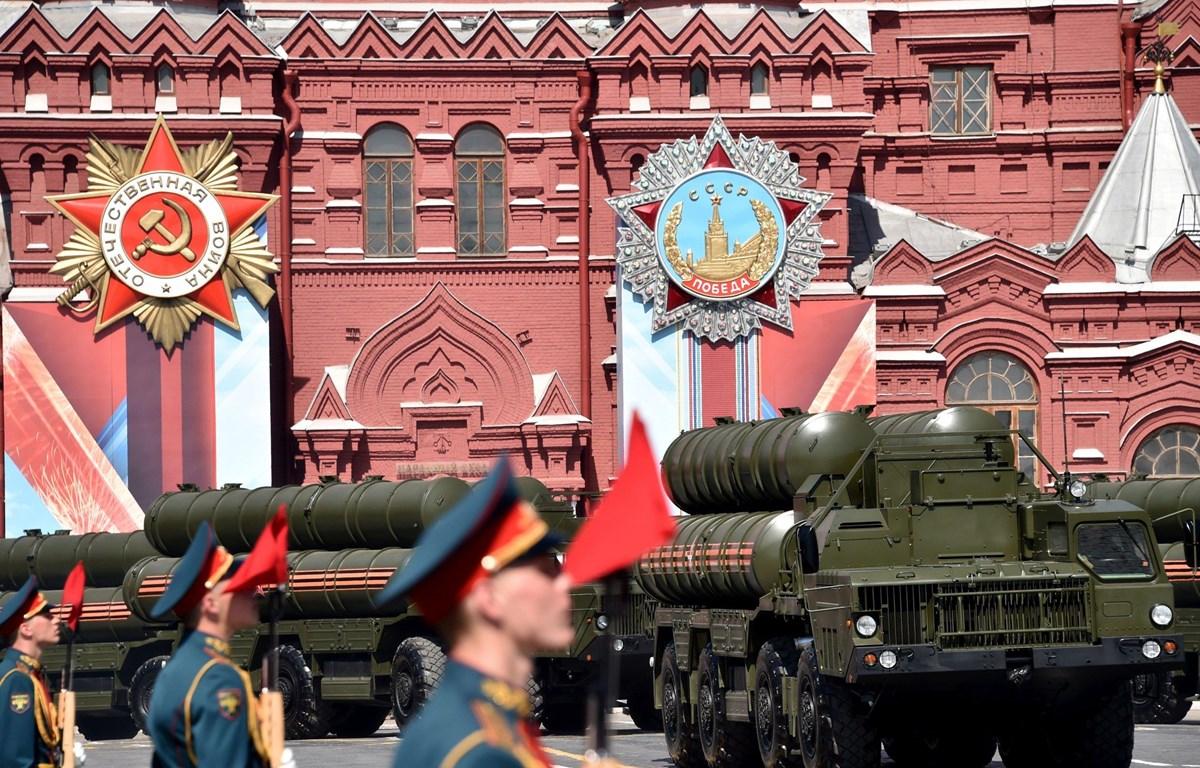 Hệ thống phòng thủ tên lửa S-400 Triumf của Nga. (Nguồn: Getty Images)