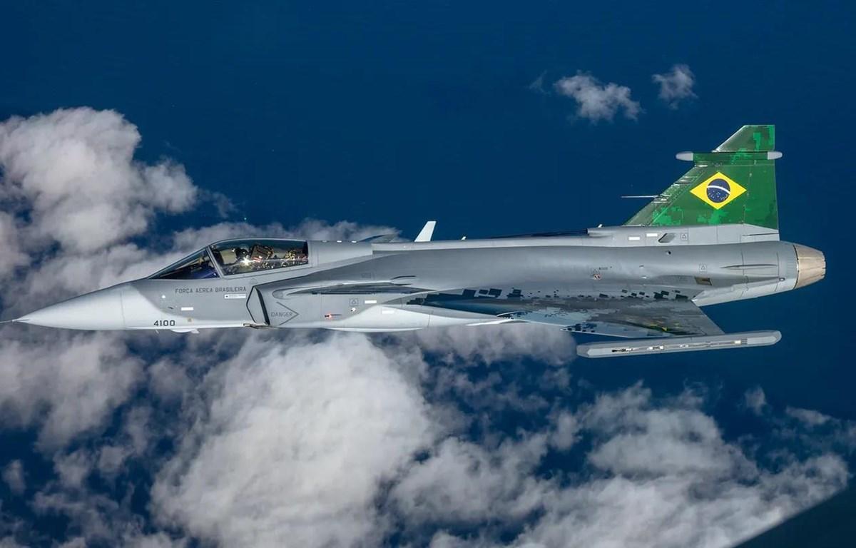 Máy bay Gripen được không quân Brazil sử dụng. (Nguồn: Saab)